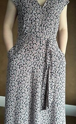 "NWT Weekend MaxMara Size 10US ""Gerarda"" Summer Maxi Silk Flower Dress Orig.575$"