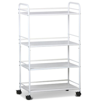 Yaheetech 4 Shelf Spa Storage Dentist Wax Treatments Large Salon Beauty Trolley