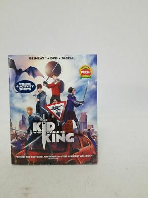 The Kid Who Would Be King Region A/1 Blu-ray DVD