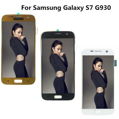 OLED Per Samsung Galaxy S7 G930F /S7Edge G935F LCD Display Touch Screen+Frame H2