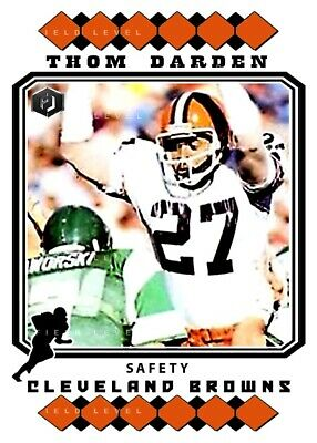 ACEO TIM COUCH CLEVELAND BROWNS CUSTOM HAND MADE ART CARD