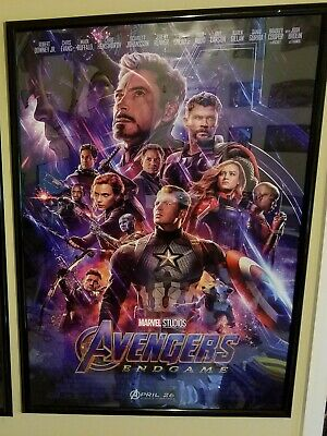 Authentic Avengers Endgame 27x40 Original Final DS One Sheet Marvel US Seller