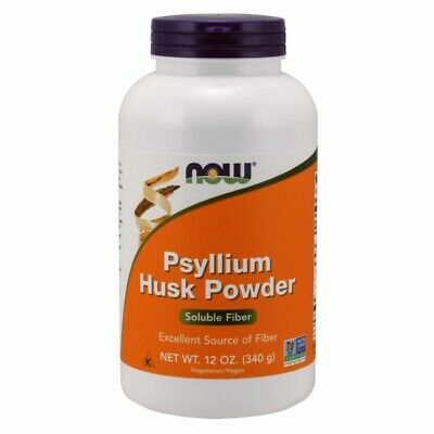 Psyllium Husk 12 OZ. POWDER by Now Foods