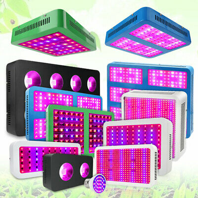5x 50W Vollspektrum LED COB Grow Light Lampe Vollspektrum für Blumen /& Gemüse
