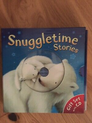 Snuggle Time Bedtime Stories Gift Set, CD 3 hardback Books in perfect condition