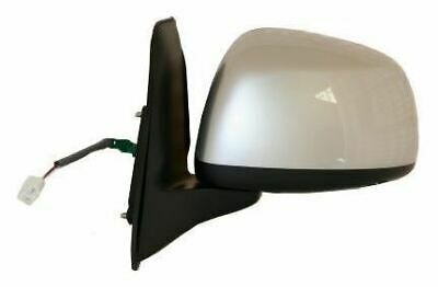 Right Driver side Wing mirror glass for Fiat Sedici 2006-14 heated plate