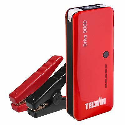 Telwin Booster Booster Compact Lithium Ion 12V & Power Bank Model Drive 9000