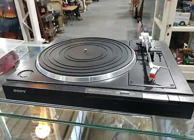 Sony Direct Drive automatic stereo turntable system PS LX 210
