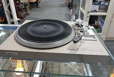 Direct Drive Pioneer automatic return pl 518 turntable