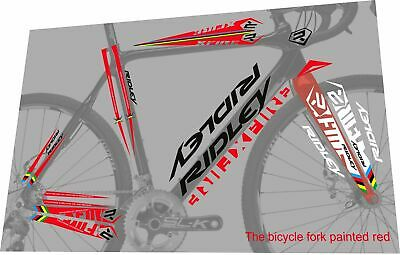 Ridley Downtube decal