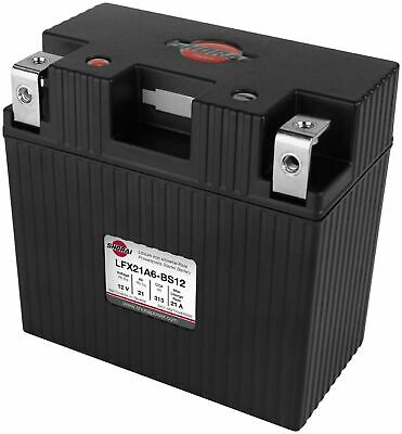 Shorai LFX21A6-BS12 Lithium Iron Extreme-Rate Battery