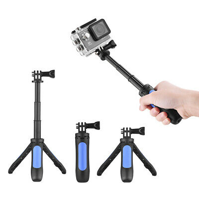 Mini Extension Selfie Stick Tripod Stand Hand Grip for GoPro Hero 3/5/4/3+3 W7Y2