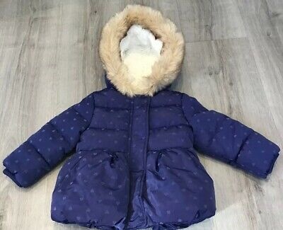 Mothercare Baby Girls Warm Winter Coat Age 6-9 Months New With Tags