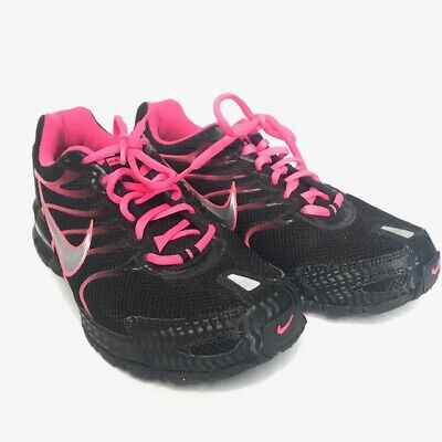 c1bc7dfc41 Nike Air Max Torch 4 -Size 10.5- Women's Black Silver Pink Flash Running  Shoes