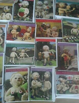 50 Knitted Cards, Wholesale Joblot Greeting Cards