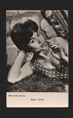 Dany Carrel - carte postale Collection KORES