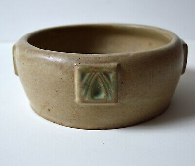 PETERS & REED arts and crafts era pottery bowl Zanesville Ohio