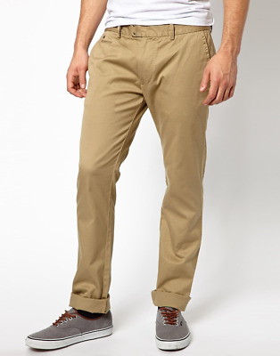 e641afae New Diesel Men's Chinos CHI-TIGHT-E Khaki Chinos Trousers pant All Sizes RRP