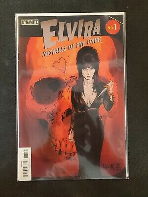 Elvira Mistress of the Dark #1 E Variant (2017) NM Dynamite Comics