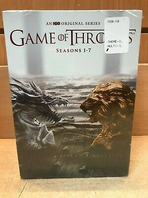 Game of Thrones: The Complete Series Seasons 1-7 DVD Season 34-Disc Set
