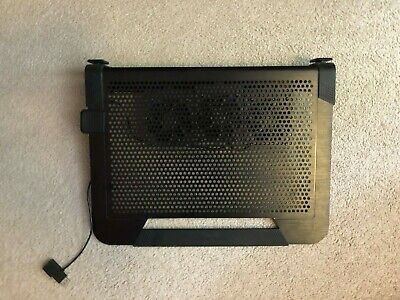 """Laptop Cooling Pad With 3 Moveable Fans by CoolerMaster, Fits up to 17"""" Laptop"""