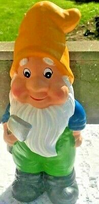 Latex Gnome Mould Mold Crafts Gifts Garden Yellow Ornament