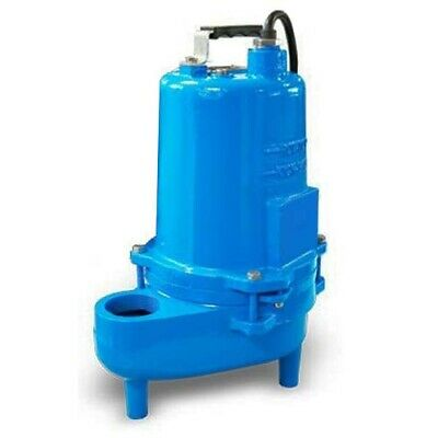 "Submersible SEWAGE TRASH Pump - 2"" Out - 132 GPM - 230 V - 0.4 HP - Self Priming"