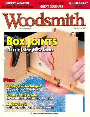 Woodsmith Magazine Box Joints Vol 35 Issue #207