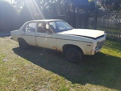 torana lh sedan 6cly project car