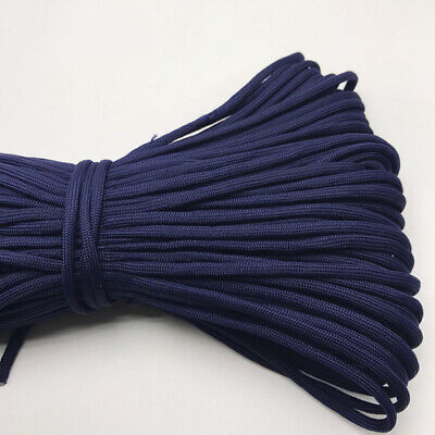 550 Paracord Parachute Cord Lanyard Mil Spec Type III 7 Strand Core 25FT HOT24