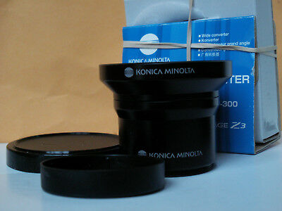 Konica Minolta ZCW-300 Wide Angle Converter Kit for Dimage Z3 Z5 Z6