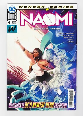 Naomi #4 Origin Issue Campbell Cover A First Print Dc Comics 2019 Sold Out
