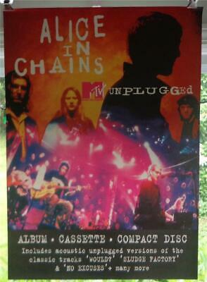 Alice in Chains : English MTV Unplugged Promo Poster