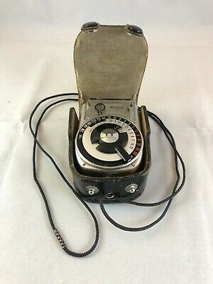 Vintage Japanese-Made Imperial Cds Light Meter With Case