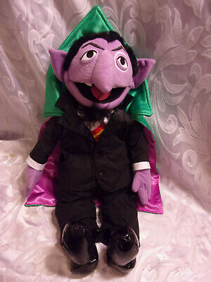 Toys Hobbies Sesame Street The Count Plush Toy The Count