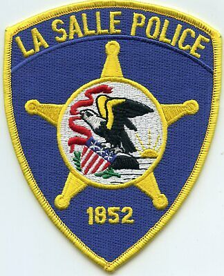 SPRING VALLEY ILLINOIS IL state seal POLICE PATCH