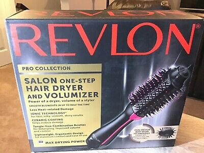 One Step Dryer Revlon Hair Salon Pro Collection Styler And Volumizer Brush