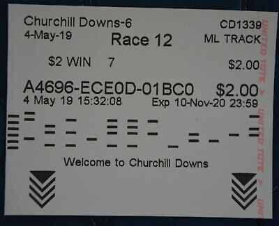 2019 MAXIMUM SECURITY $2 Win Ticket (#7) at Controversial Kentucky Derby 145