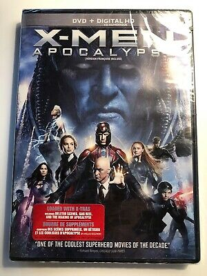 X-men Apocalypse (Bilingual) DVD+ Digital Copy] (New Sealed)