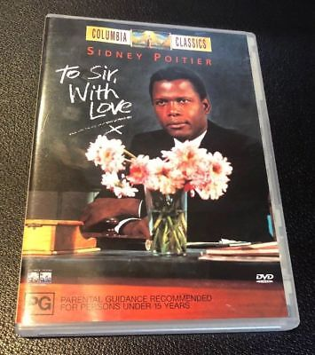 To Sir With Love - Sidney Poitier - Lulu - Columbia Classic - Region 4