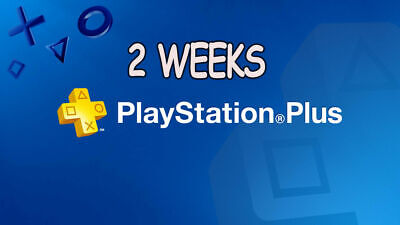 2 Weeks Ps Plus -Ps4-Ps3-Ps Vita - Playstation