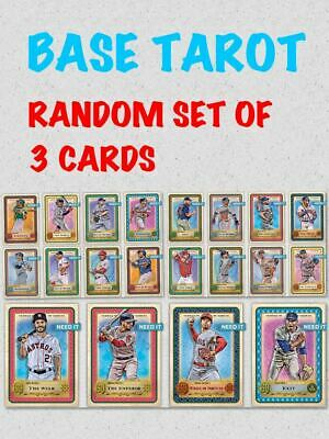 2019 GYPSY QUEEN BASE TAROT RANDOM SET OF 3 CARDS Topps Bunt Digital Card