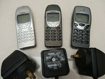 Nokia Mobile Phones Bundle Deal (3 Phones + 3 Chargers) - Free Postage