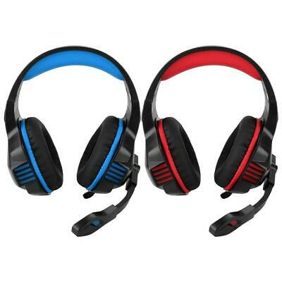 USB 3.5mm Surround Stereo Gaming Headset Headband Headphone w/ Mic For Laptop PC