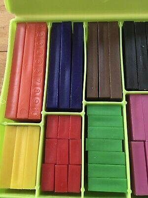 Numicon Approach Cuisenaire Set (200 Pieces) Brand New In Box Great Value +Fun!