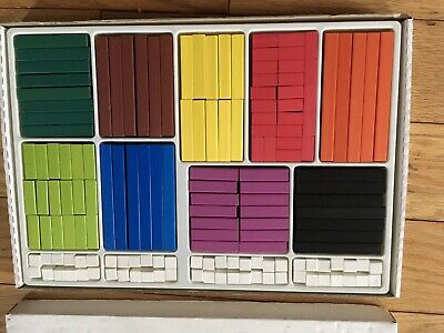 Numicon Approach Cuisenaire Set In Box Over 300 Pieces Complete Very Good Value