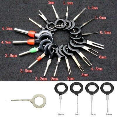 18PCS/SET Terminal Removal Tool Car Plug Circuit Wire Extractor Pin Connector