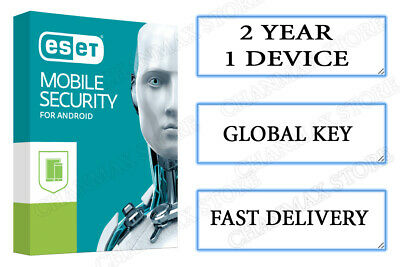 Eset Mobile Security Antivirus Android Premium 2 Years for 1Device Fast Delivery