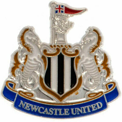 Newcastle United FC Enamel Crest Pin Badge Brand New