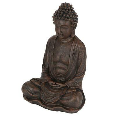 Buddha Statue Sculpture Carved Sandstone Craft Home Collection Sculptures Art
